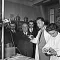1957 Visite du ministre de l'agriculture Mr ANDRE DULIN au CNRZ-56-cliche Jean Joseph Weber.jpg