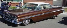 La Chevrolet Impala MY 1959