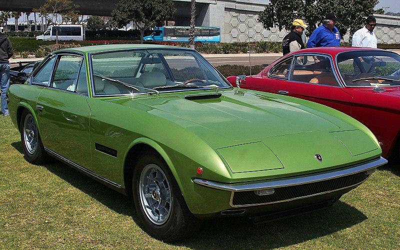 File:1969 Lamborghini Islero S - fvr.jpg