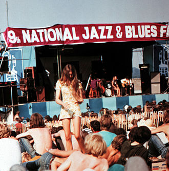Rock festival - Image: 1969 National Jazz & Blues Festival 01