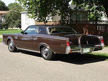 Lincoln Continental Mark III - Wikipedia