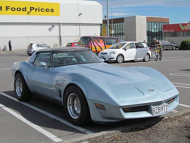 File1982 Chevrolet Corvette Stingray 27654021550g Wikimedia