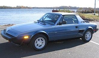 Fiat X1/9 - 1986 U.S. market Bertone X1/9