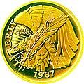 1987 US Constitution Gold $5 Obverse.jpg