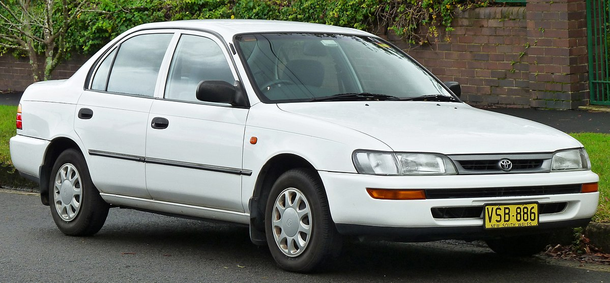 1996 corolla wagon fuel tank