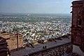 1996 -219-7 Jodhpur Majestic Fort toward hotel (2233395533).jpg