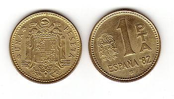 1 pesetas-rubias juan carlos