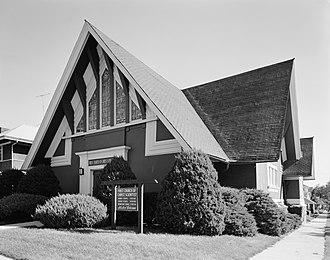First Church of Christ, Scientist (Marshalltown, Iowa) - Seen in September 1977