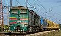 2ТЭ10М-3208, Украина, Днепропетровская область, станция Просяная (Trainpix 212039).jpg