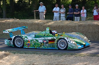 Audi R8 (LMP) - This R8, in a special crocodile livery, won the Race of a Thousand Years in Adelaide, Australia, in 2000 driven by Allan McNish and Rinaldo Capello.