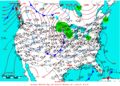 2005-03-10 Surface Weather Map NOAA.png