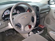 2005 Chrysler Town and Country LX interior.JPG
