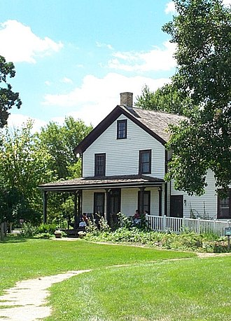 Gibbs Museum of Pioneer and Dakotah Life - The Heman Gibbs farmhouse