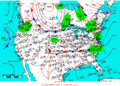 2006-05-20 Surface Weather Map NOAA.png