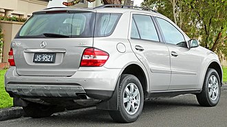 Mercedes-Benz M-Class - Pre-facelift Mercedes-Benz ML 320 CDI (Australia)