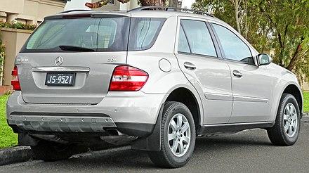 Mercedes Benz M Class Wikiwand