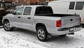 2007 Dodge Dakota SLT 4x4 Crew Cab, rear view.jpg
