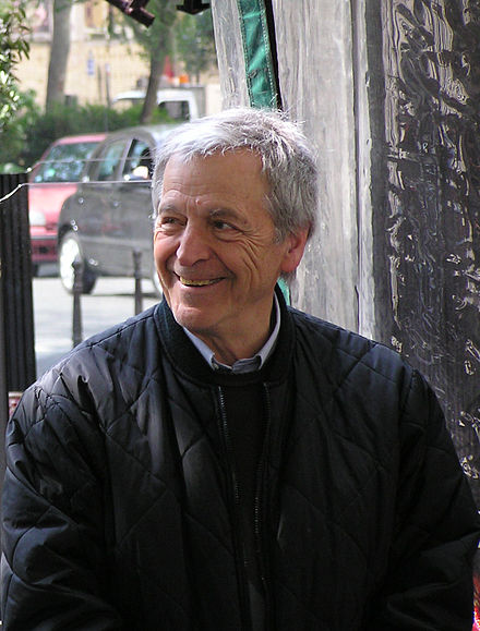 Costa-Gavras in April 2008, during the filming of Eden in West 20080422CostaGavras 001.JPG