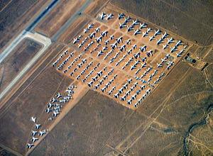 Southern California Logistics Airport - Victorville's aircraft boneyard.