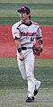 20111015 Ryousuke Morioka, infielder of the Tokyo Yakult Swallows, at Yokohama Stadium.jpg