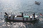 2012-08-11 Heligoland Ausflug, Börteboote 02.JPG