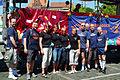 2012 CSD Christopher Street Day Hannover Sportlerinnen Tanzart Schwul-Lesbischer Sportverein SLS Leinebagger e.V. Klagesmarkt Paradewagen.jpg