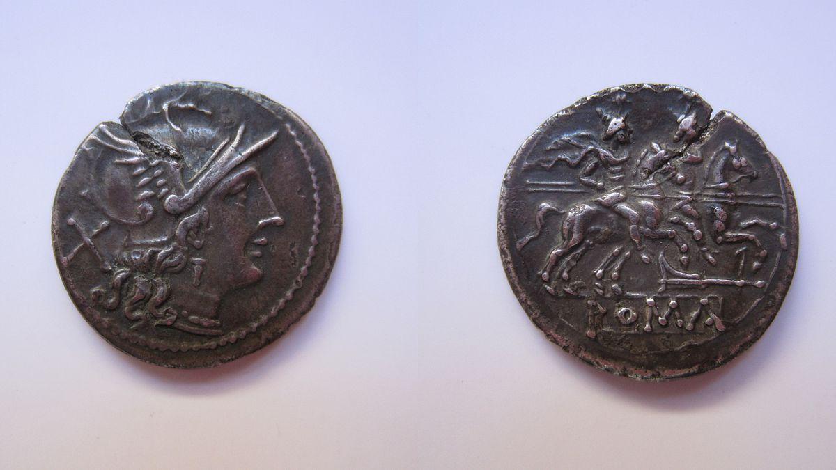pièce de monnaie antique