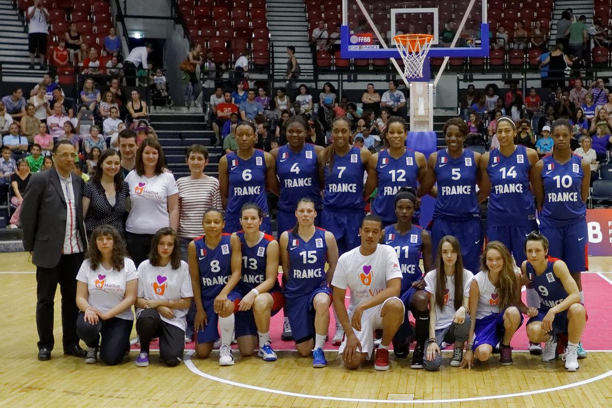 equipe de france feminine canada
