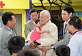 2013 臺灣前總統李登輝訪問桃園弘化育幼院 Former President of TAIWAN Visited Orphanage.jpg