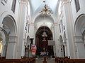 2013 Interior of Saint Benedict church in Płock - 01.jpg