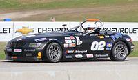2013 SCCA National Championship RunoffsE Production 3rd place Chris Dryden BMW Z3.jpg