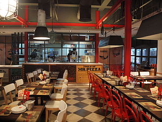 Mr. Pizza - The Shanghai Ruzhonlu store, 2013