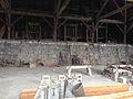 2014-07-28 13 27 58 Interior of the mill building in Berlin, Nevada at Berlin-Ichthyosaur State Park.JPG