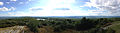 2014-08-28 16 35 21 Panorama from the west corner of the base of High Point Monument in High Point State Park, New Jersey.JPG