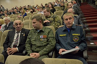 Novorossiya (confederation) - Alexander Zakharchenko, leader of the Donetsk People's Republic, 27 December 2014