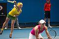 2014 Australian Open - Svetlana Kuznetsova and Samantha Stosur.jpg