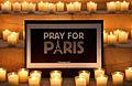 2015-11-14 Freundeskreis Hannover in Hildesheim, (280). Hildesheimer Dom St. Mariä Himmelfahrt Pray for Paris. Je suis Paris. Nous sommes Paris.JPG