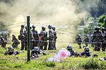 2015.8.11 수도기계화보병사단 신병교육대 각개전투훈련 Individual combat skill and techniques training, Republic of Korea Army Capital Mechanized Infantry Division (22374119788).jpg