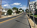 2016-08-25 16 41 52 View east along West Virginia State Route 45 (Moler Avenue) between U.S. Route 11 and West Virginia State Route 9 (Queen Street) and 3rd Street in Martinsburg, Berkeley County, West Virginia.jpg