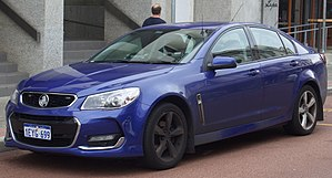 Law enforcement in Australia - Unmarked Police Holden Commodore.