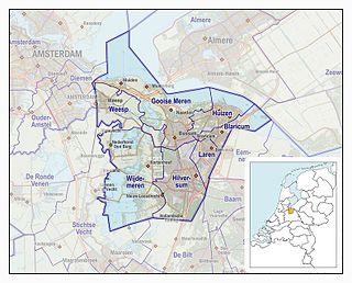 Gooi region in the Netherlands