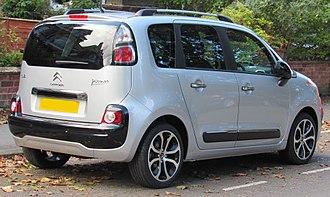 Citroën C3 Picasso - 2012 facelift