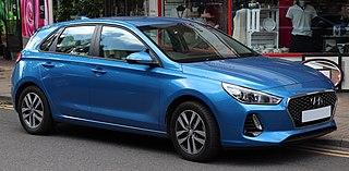 Hyundai i30 car model