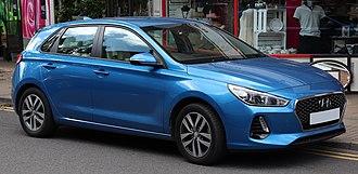 Hyundai i30 - Image: 2017 Hyundai i 30 SE NAV CR Di 1.6 Front
