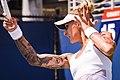 2017 US Open Tennis - Qualifying Rounds - Viktoriya Tomova (BUL) def. Polona Hercog (SLO) (36661177120).jpg