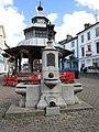 2018-08-08 George V Coronation fountain, Market Place, North Walsham (1).JPG