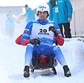2019-01-25 Doubles Sprint Qualification at FIL World Luge Championships 2019 by Sandro Halank–219.jpg