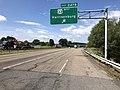 2019-06-06 10 29 36 View south along Interstate 81 at Exit 247B (U.S. Route 33 WEST, Harrisonburg) in Harrisonburg, Virginia.jpg
