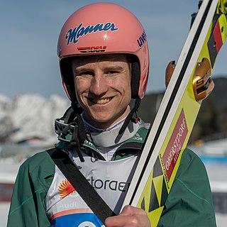 Karl Geiger German ski jumper