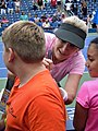 2019 USTA exhibition Tracy Austin signs autographs.jpg